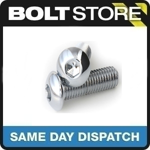10 PACK M10 X 50 A2 STAINLESS STEEL BUTTON HEAD ALLEN CAP SOCKET BOLT SCREW